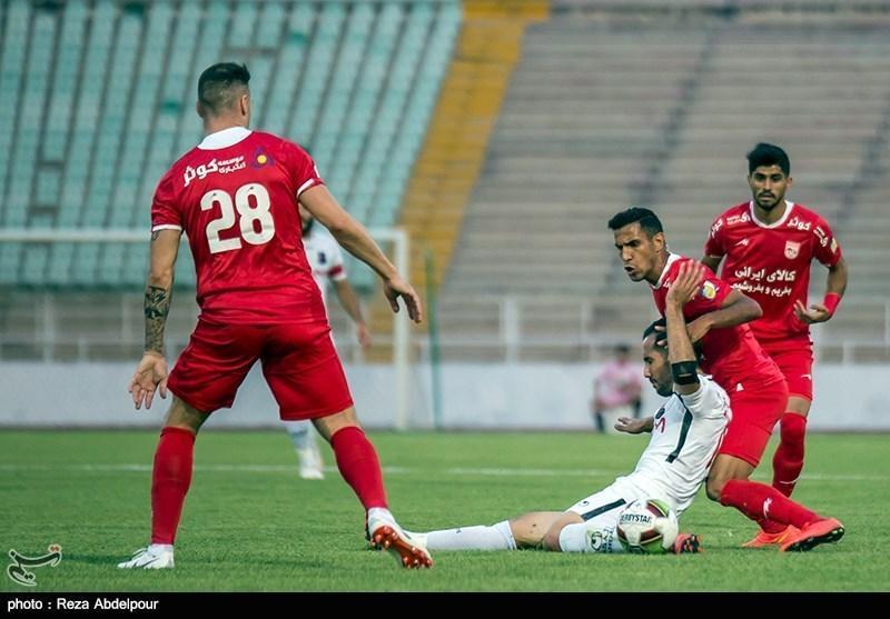 لیگ برتر فوتبال، تساوی یک نیمه ای تراکتورسازی و سایپا