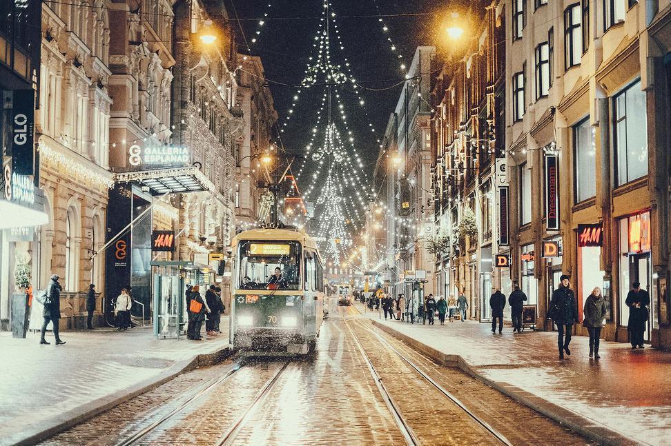 هلسینکی انتخاب خوب برای دیدن کریسمس در فنلاند