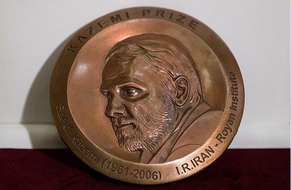 مایکل دلوکا ایتالیایی برنده کاظمی پرایز 2018