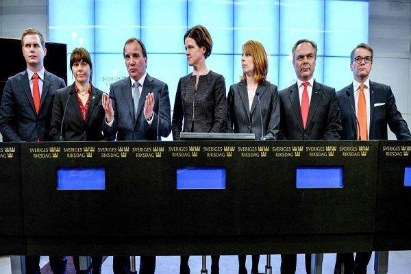 حزب حاکم سوسیال دموکرات سوئد در انتخابات پیروز شد