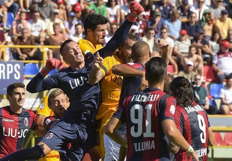 فوتبال جهان، شکست رم برابر بولونیا در روز پیروزی لاتزیو مقابل جنوا