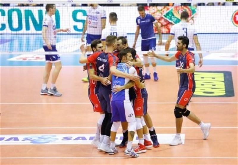 والیبال سری A ایتالیا، درخشش غفور در نخستین بازی، شکست یاران میرزاجان پور مقابل شاگردان ولاسکو
