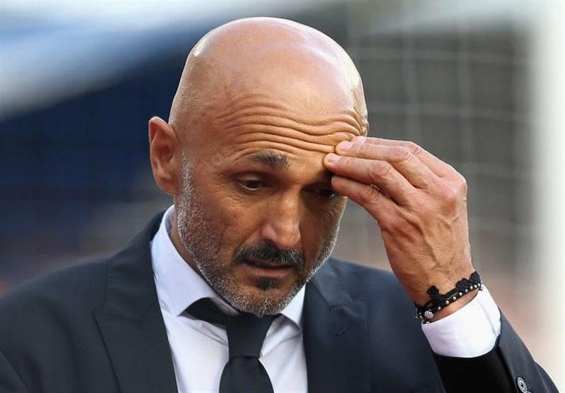 فوتبال دنیا، لوچانو اسپالتی یک جلسه محروم شد