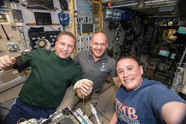 نگاهی به فعالیت های سه فضانورد ایستگاه فضایی بین المللی