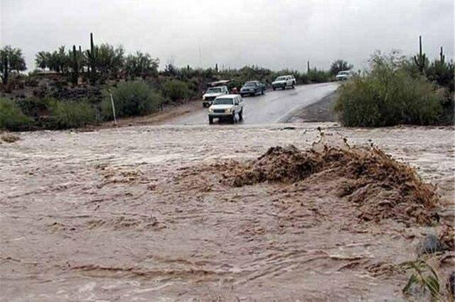 هشدار هواشناسی همدان مبنی بر جاری شدن سیل و آبگرفتگی معابر