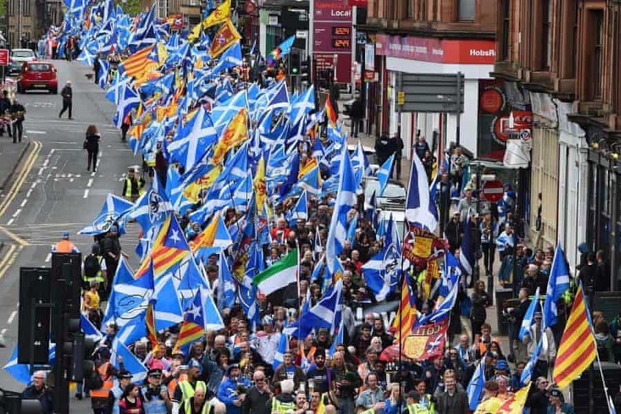 اسکاتلندی ها در سودای جدایی از انگلستان