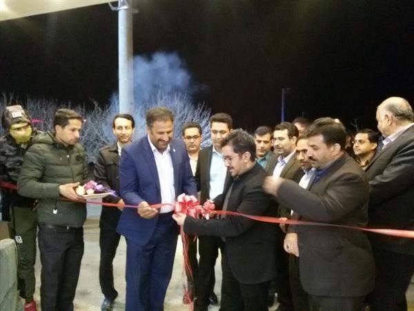 افتتاح مرکز تفریحی-سرگرمی و گردشگری باغ مصاحبه در شهرستان اردکان
