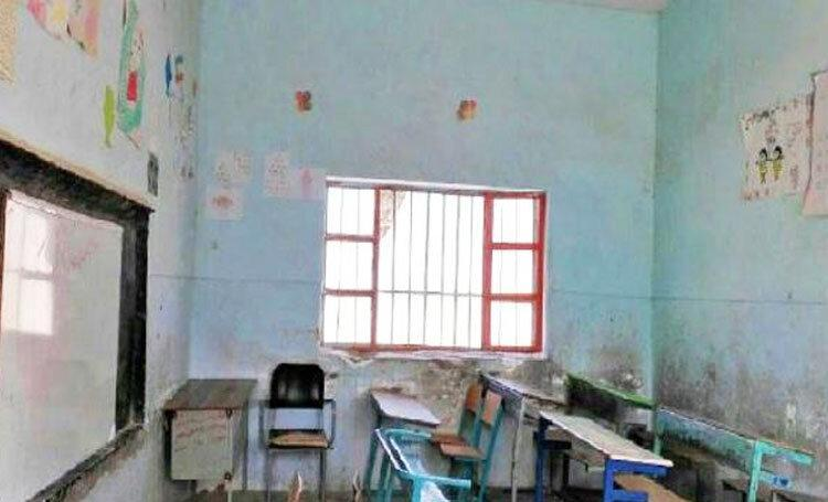 مشق محرومیت در کلاس های فرسوده