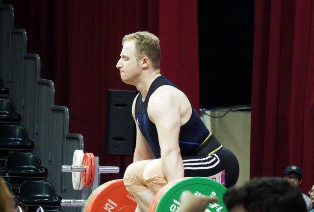 وزنه برداران ایران در یک ضرب 89 کیلوگرم مدال نگرفتند