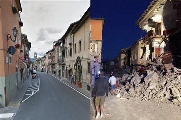 زمین لرزه مرکز ایتالیا را به لرزه درآورد
