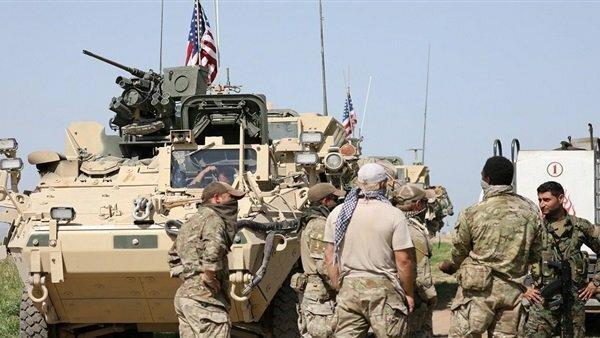 بازدید هیئت نظامی آمریکا از مواضع کردها در قامشلی، تظاهرات کردها علیه حضور ترکیه