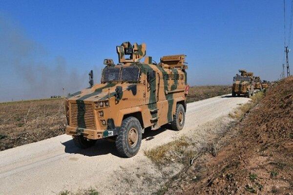 ادامه گشت زنی نیروهای ترکیه و روسیه در شمال سوریه