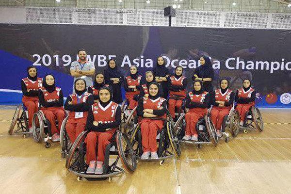 تیم ملی بسکتبال با ویلچر بانوان ایران مقابل هند پیروز شد