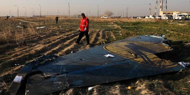 بازدید بازرسان کانادایی از محل سقوط هواپیمای اوکراینی در ایران