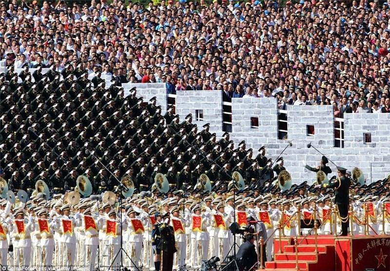 بزرگترین رژه نظامی چین به مناسبت پیروزی در جنگ جهانی دوم