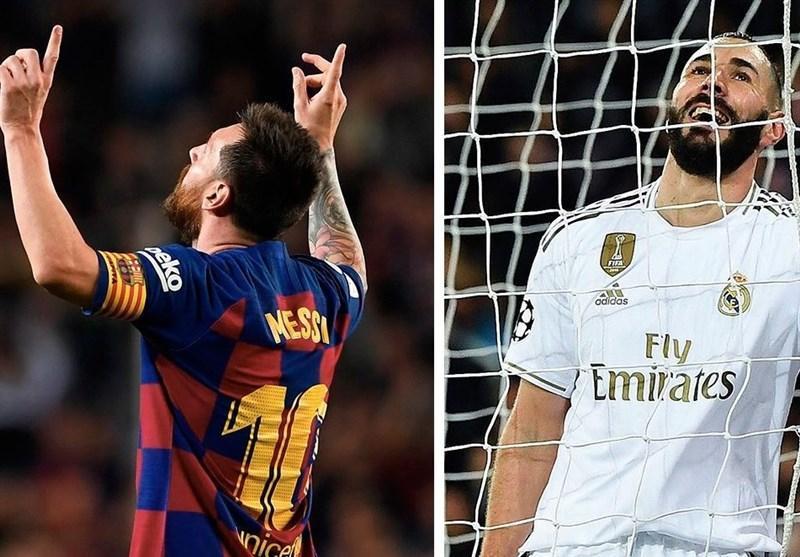 لالیگا، ترکیب اصلی رئال مادرید و بارسلونا اعلام شد