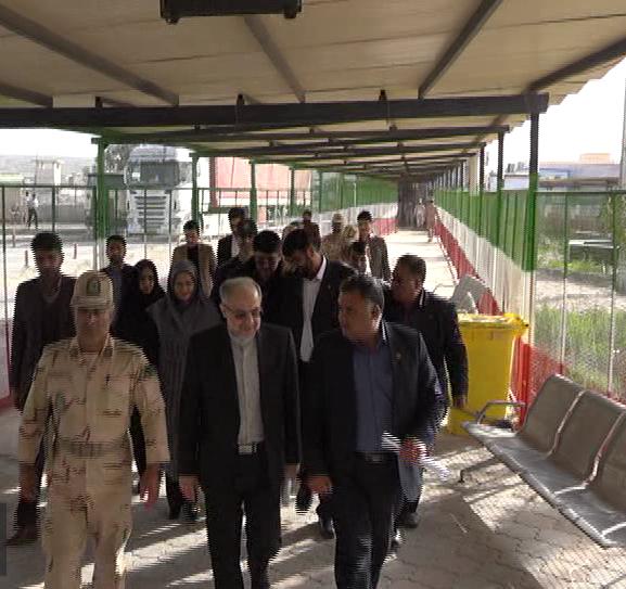 بازدید مدیرکل آسیای غربی وزارت خارجه از مرز میرجاوه