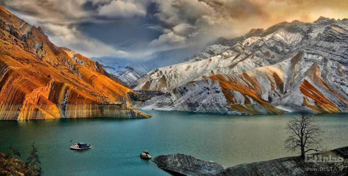 روستای واریان کرج ، تنها روستای آبی ایران