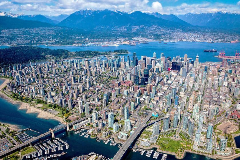 12 ساعت در ونکوور