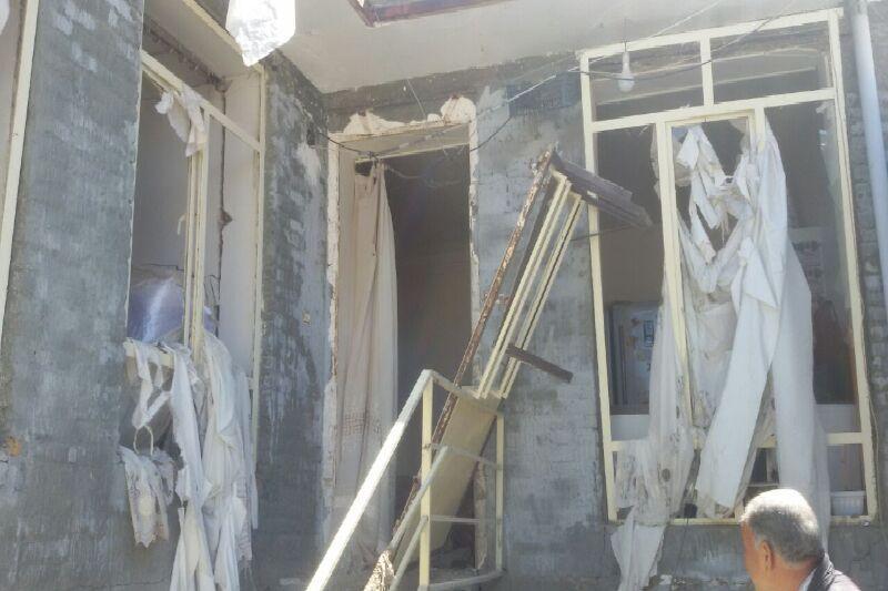 خبرنگاران نشت گاز موجب انفجار منزل مسکونی در میاندوآب شد