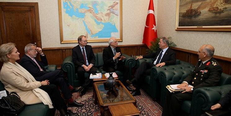 ملاقات مسئول سیاست خارجی اتحادیه اروپا با مقامات ترکیه درخصوص ادلب