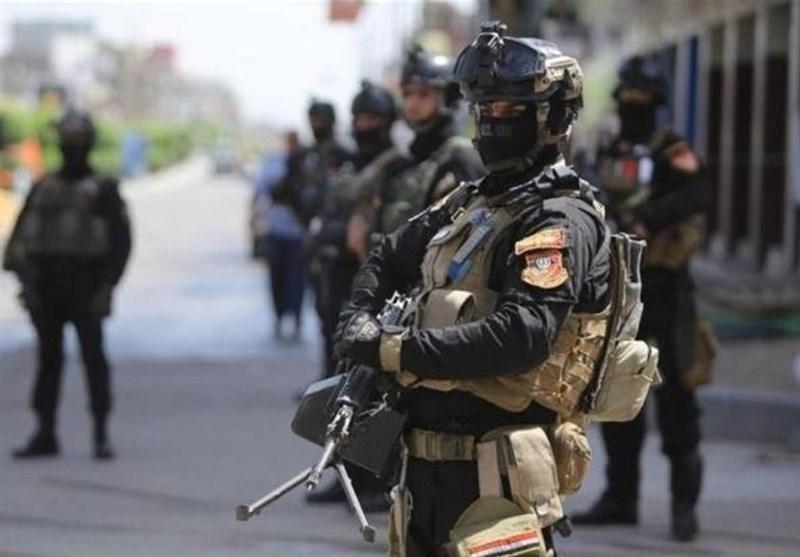 استقرار گسترده نیروهای امنیتی در اطراف سفارت آمریکا در بغداد