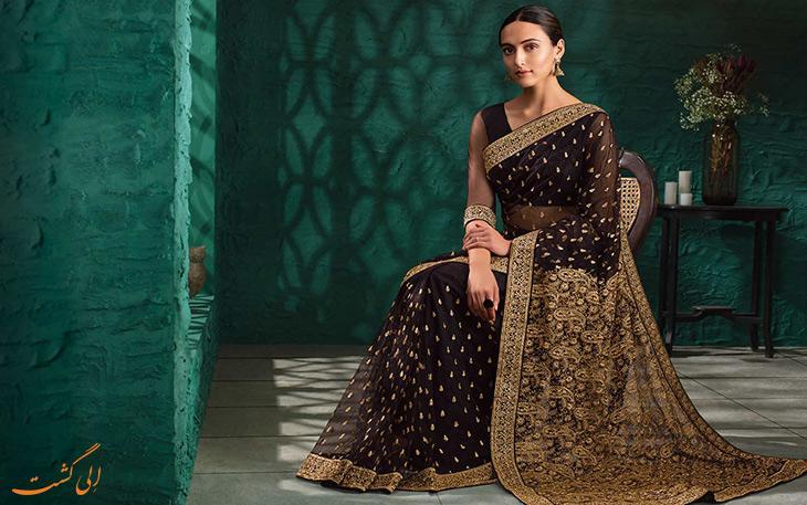 آشنایی با انواع پوشش و لباس سنتی هندی