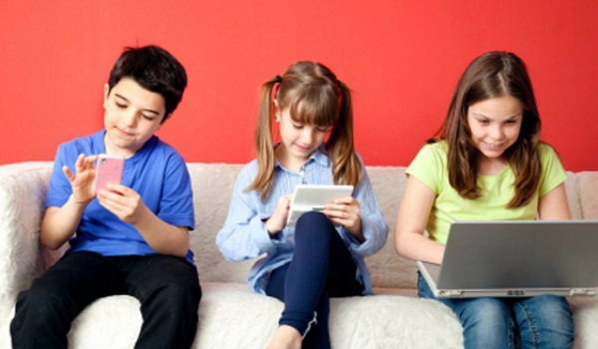 بچه ها به چه اندازه از فضای مجازی الگو می گیرند؟