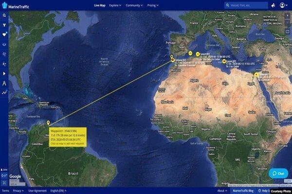 رویترز: نفتکش های ایرانی به نزدیکی ونزوئلا رسیده اند