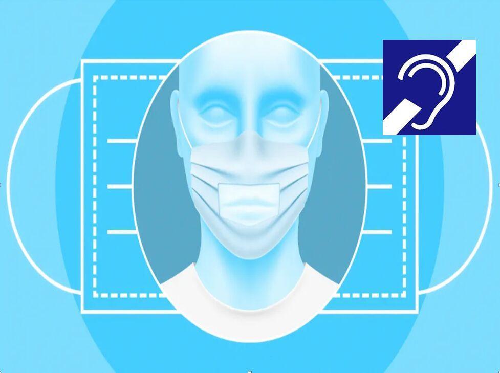 خبرنگاران ناشنوایان و چالش حرف زدن با ماسک