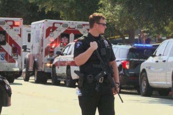 گروگانگیری در تگزاس، 3 افسر پلیس راهی بیمارستان شدند