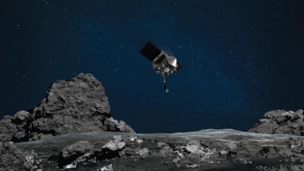 کوشش برای کشف راز منظومه شمسی، فضاپیمای ناسا امروز بر سیارک بنو فرود می آید