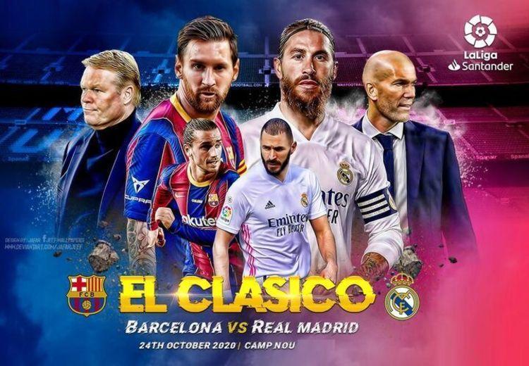 همه چیز درباره بازی امروز بارسلونا - رئال مادرید؛ ال کلاسیکو به وقت عصر