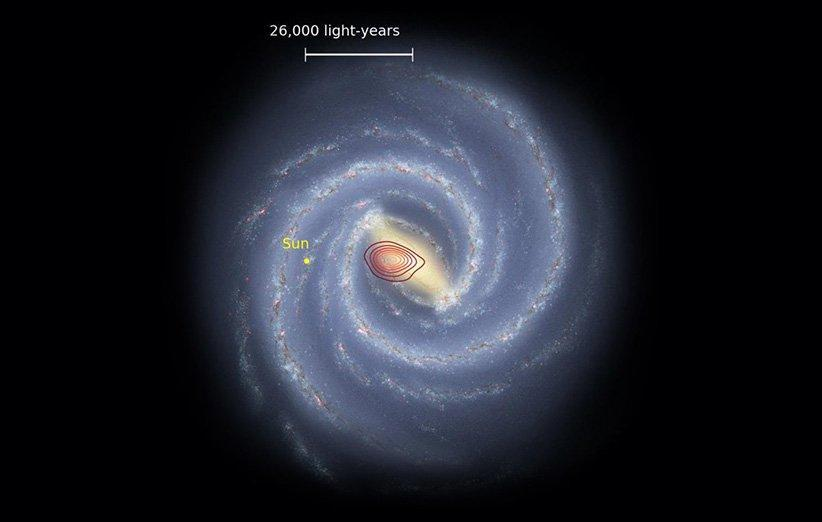 یک کهکشان فسیل شده در اعماق راه شیری کشف شد