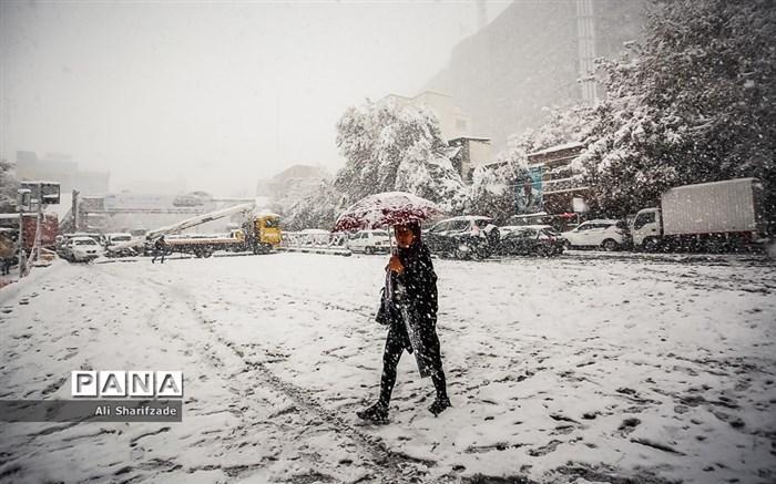 بارش شدید برف و باران در 11 استان