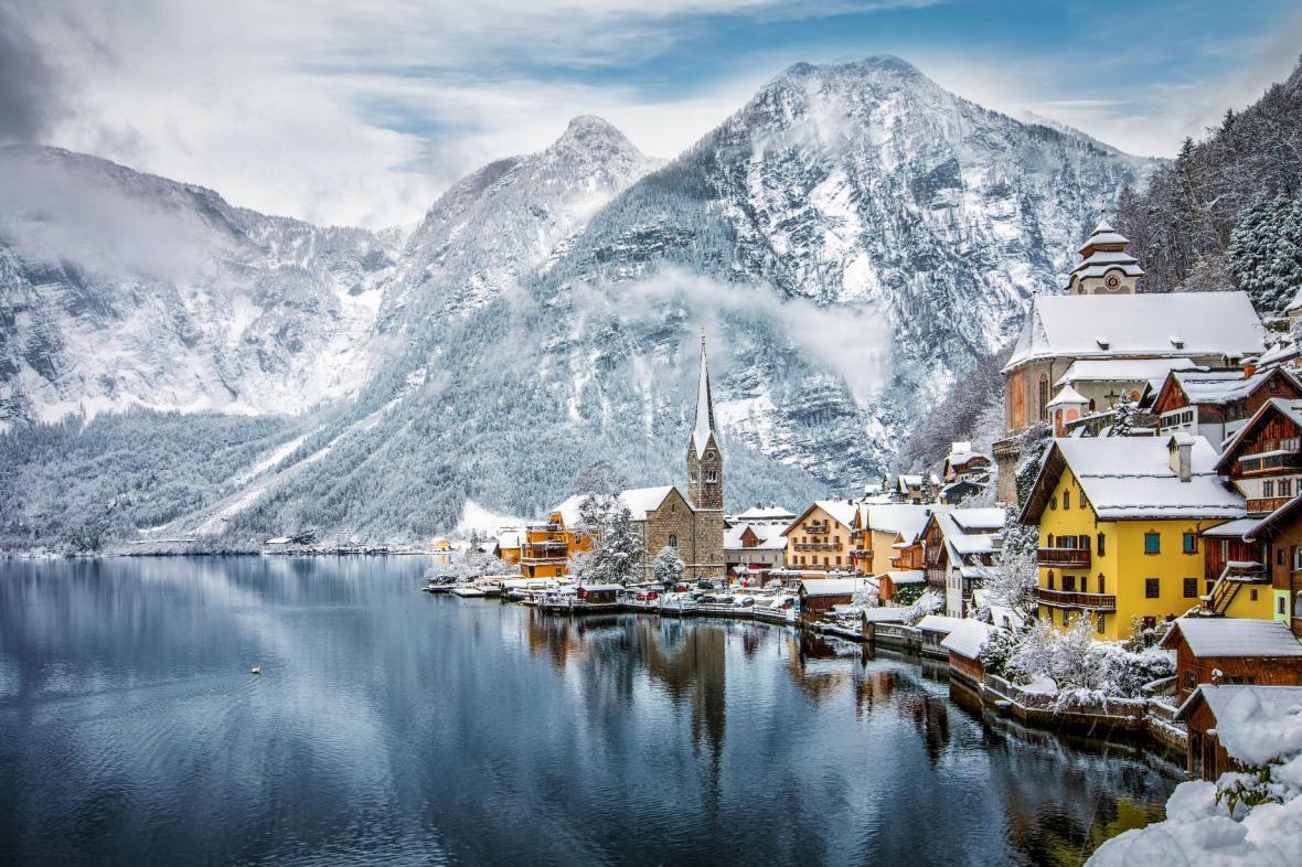 12سرزمین واقعی با مناظر زمستانی رویایی