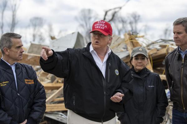 خبرنگاران جزئیات انفجار عمدی ایالت تنسی در اختیار ترامپ نهاده شد
