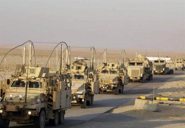 انفجار یک بمب در جهت کاروان نظامیان آمریکا