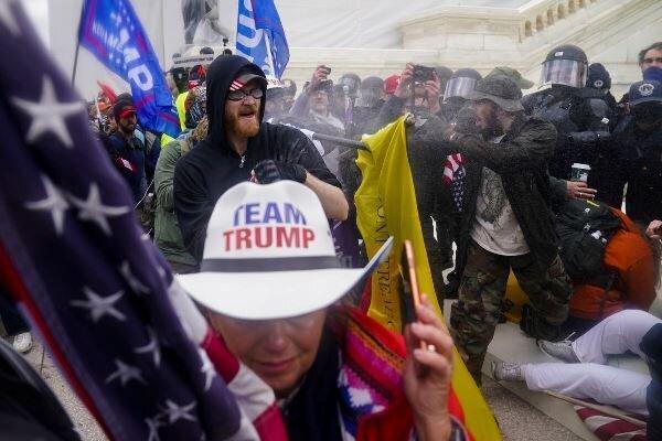 رهبران کشورهای دنیا یورش معترضان به کنگره آمریکا را محکوم کردند