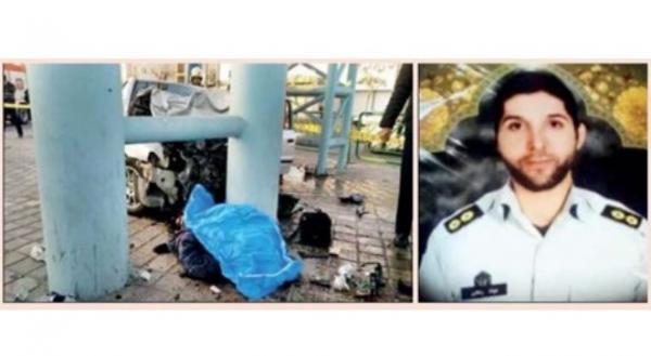 ازجان گذشتگی مامور پلیس برای نجات عابران