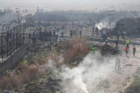 گزارش نهایی سانحه هواپیمای اوکراینی منتشر شد