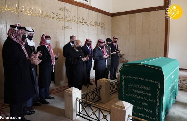 (عکس) حضور شاهزاده حمزه کنار پادشاه اردن پس از کودتای نافرجام
