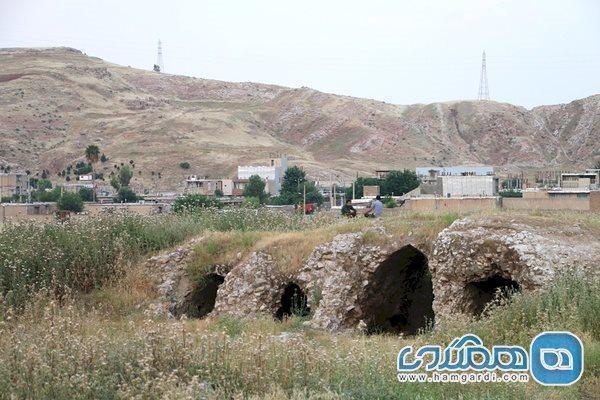 عملیات بازسازی شهر تاریخی سیمره در دره شهر خاتمه یافت