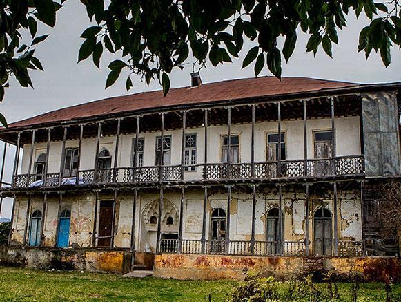 خانه تاریخی امان الله خان ساسانی گیلان
