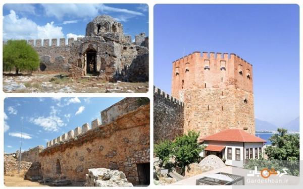قلعه آلانیا؛ از بناهای نمادین و بسیار معروف شهر