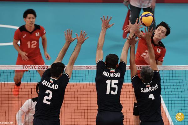 حذف تلخ تیم ملی والیبال از المپیک