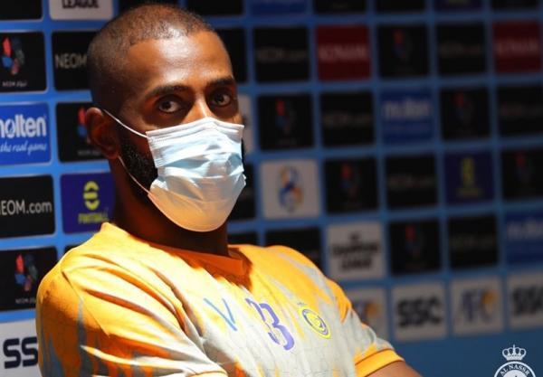 دروازه بان النصر: می خواهیم تصویری قابل افتخار برای فوتبال عربستان بسازیم، آماده دیدار با تراکتور هستیم